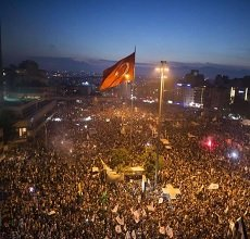 Watch Taksim Square Live Events from Turkey